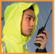 3M waterproof high safety warning suit