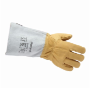 Imported waterproof cowhide leather heat-resistant gloves