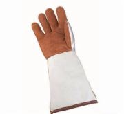 Aluminum plating leather welding gloves