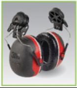 PELTOR  XP3 Earmuffs hanging helmet type