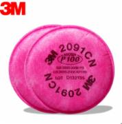 2091 CN P100 particulate matter filter cotton